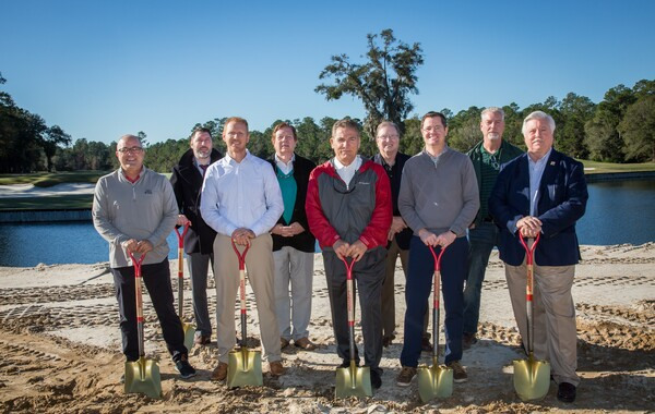 Groundbreaking at St Johns
