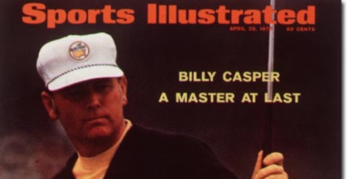 Billy Casper 70 Masters SI Cover