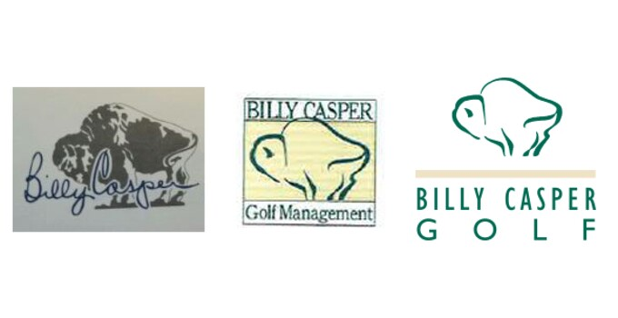 Billy Casper Golf's Logo Progression