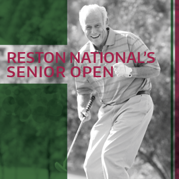 Senior Open Event at Reston National Golf Course Reston Virginia