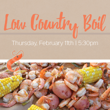 Low country boil at Brewton Country club