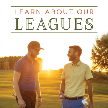 Learn about our leagues - men