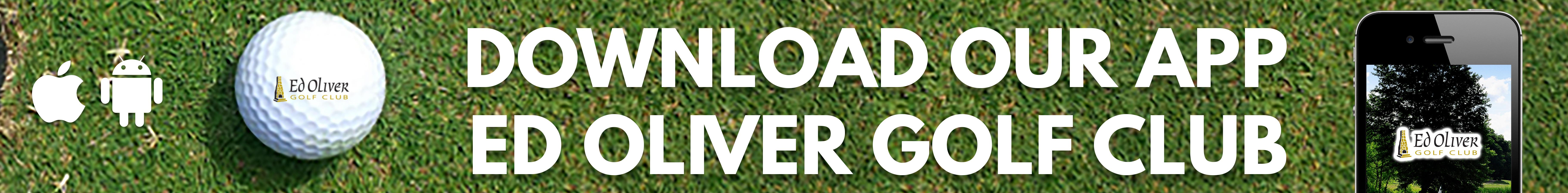 Ed Oliver Golf App