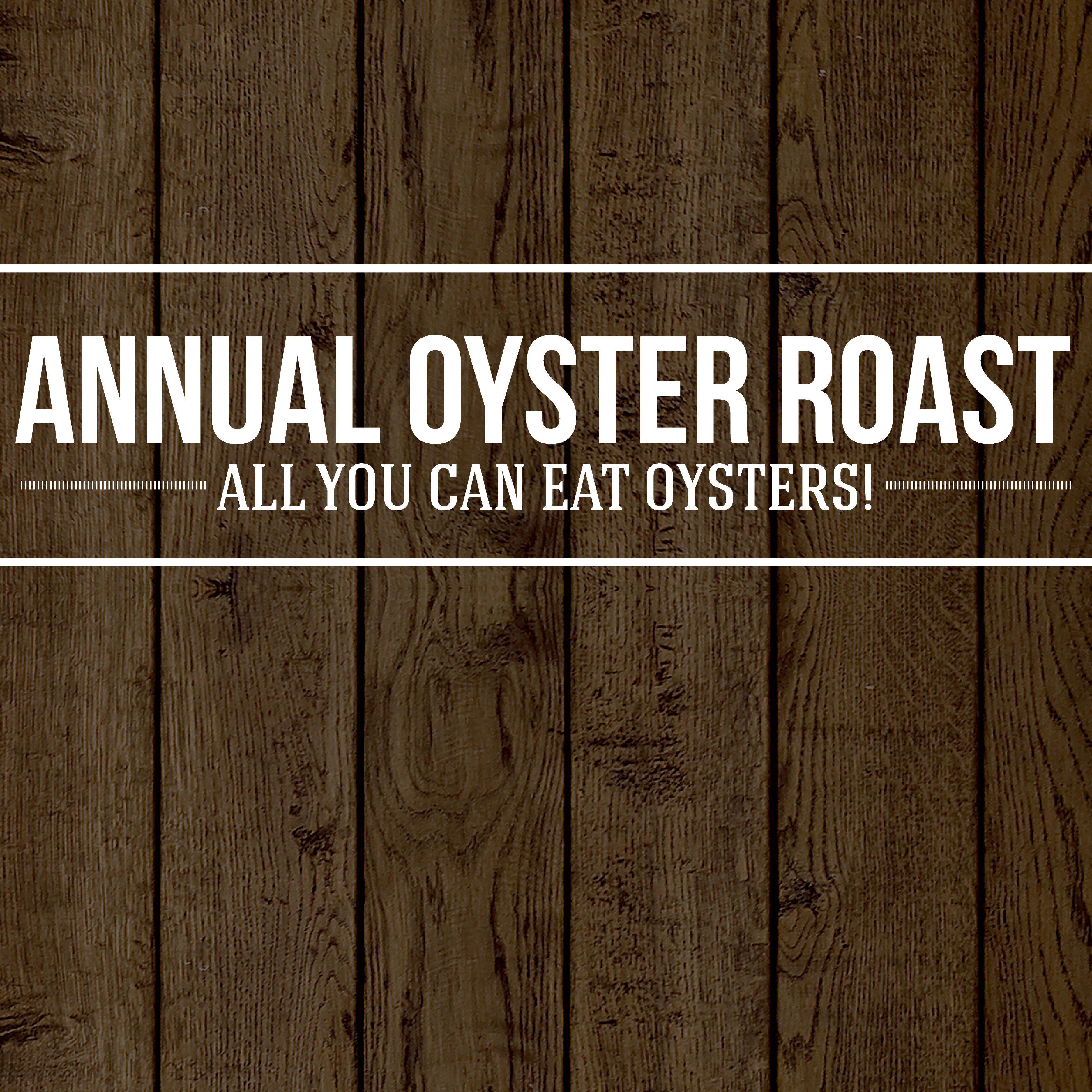 Annual Oyster Roast all you can eat oysters at St Johns Golf and Country Club in St Augustine, FL