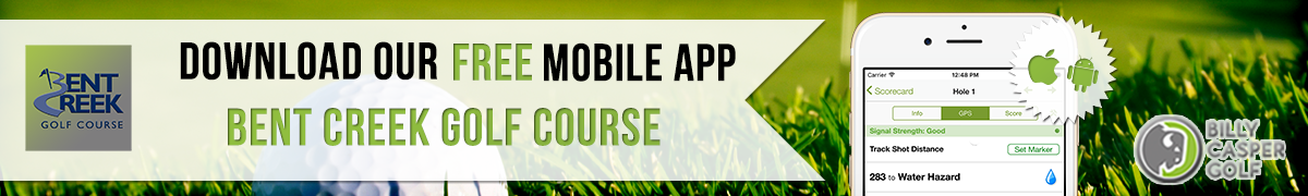 Bent Creek Golf App