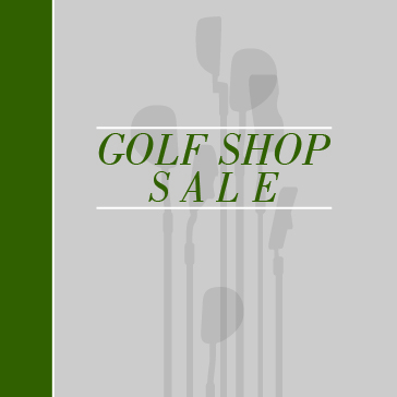 Golf Shop Sale Web Banners