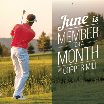 Member for a Month at Copper Mill