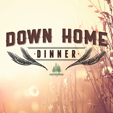 Down Home Dinner at Country club of brewton