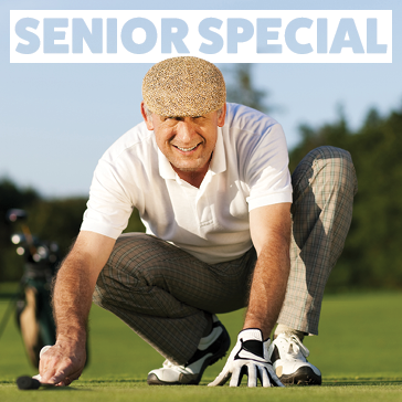 Senior Special at a Billy Casper Golf Course