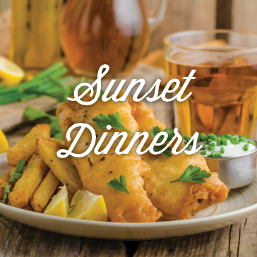 Sunset Dinners at Island View