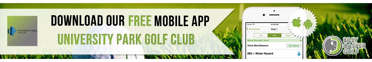 University Park Golf App