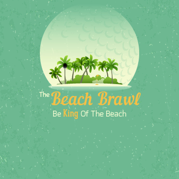 Beach Brawl Web banner for Event at Fernandina Beach Golf Club Florida