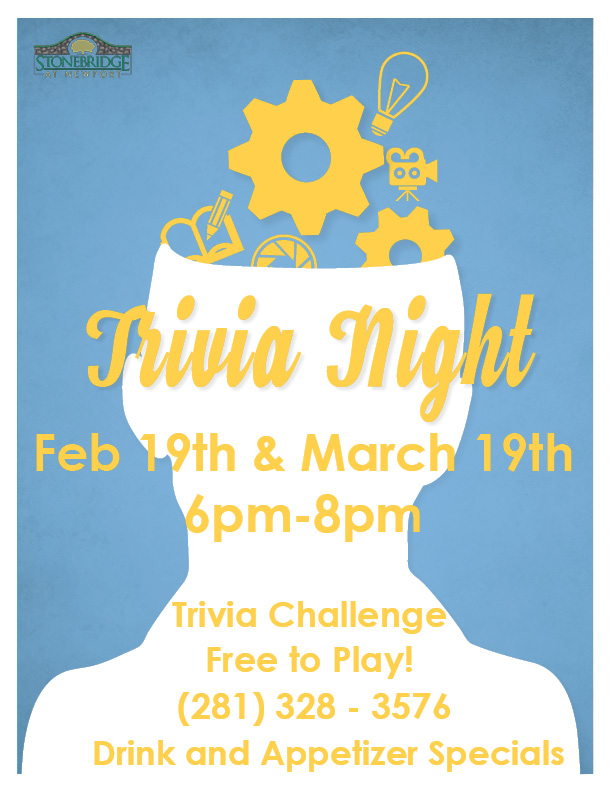 trivia night at stonebridge