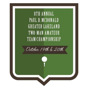 8th Annual Paul D. McDonald 2-Man Am