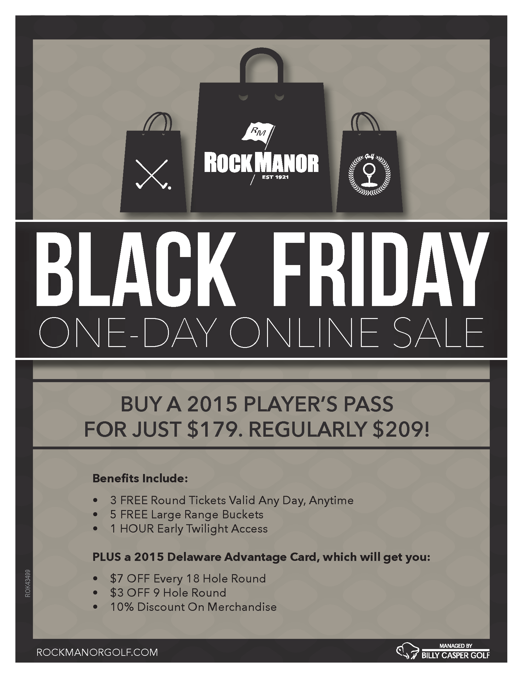Black Friday at Rock Manor