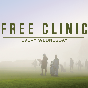 Free Clinic Every Wednesday at Waters Edge Golf Club