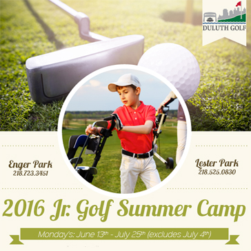 2016 Junior Golf at Duluth Golf
