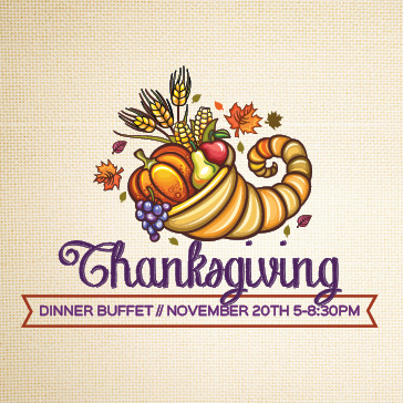 Thanksgiving Buffet at Rob Roy Golf Course