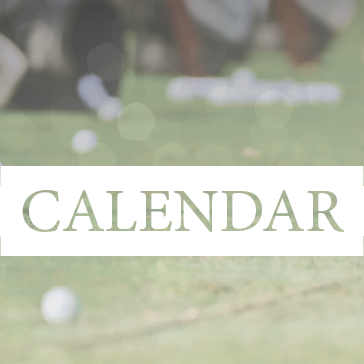 Upcoming Events Calendar of Events at golf course