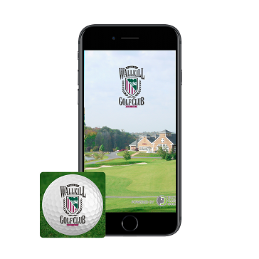 Wallkill Golf App Banner - phone icon