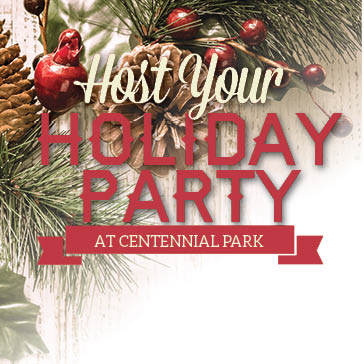 Host your holiday party at Centennial Park in Munster, Indiana