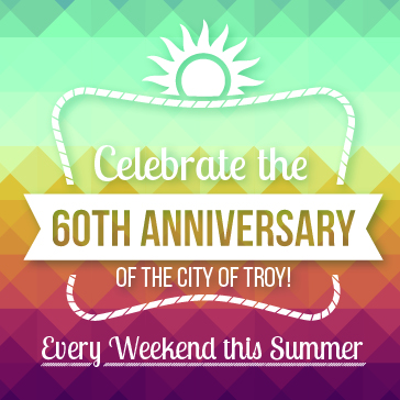 60th anniversary at Troy