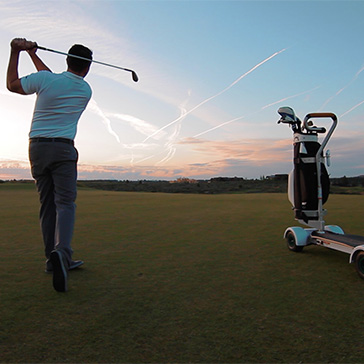 GolfBoard, Billy Casper Golf an official GolfBoard distributor