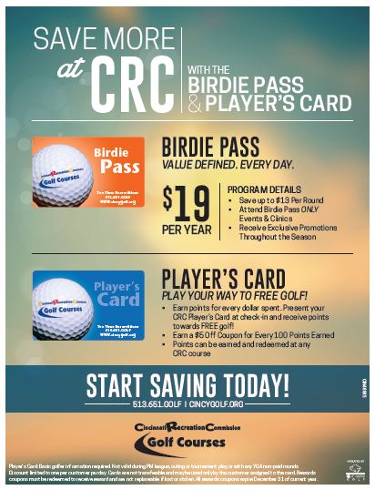 Birdie Pass Flyer