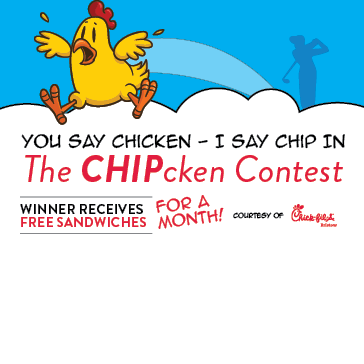 Chick-fil-A Chipping Contest