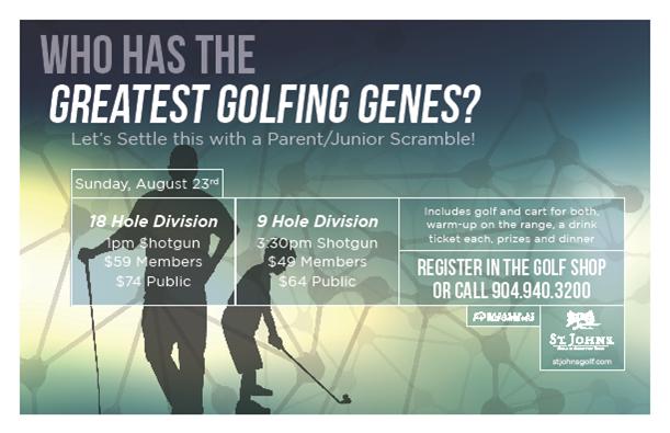 Parent-Junior Tournament SJGCC 8/23/15