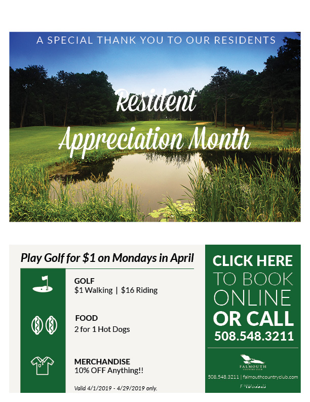 Resident Appreciation Month Flyer