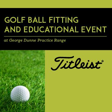 Titleist Ball Fitting