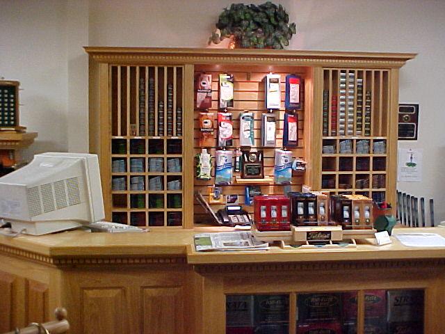The Golf Shop counter at Cypress Creek Country Club in Boyton Beach, FL
