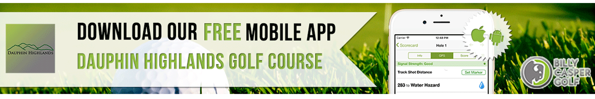 Dauphin Highlands Golf App