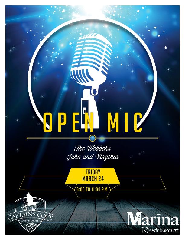 Open Mic Hosted by Virginia & John Webber