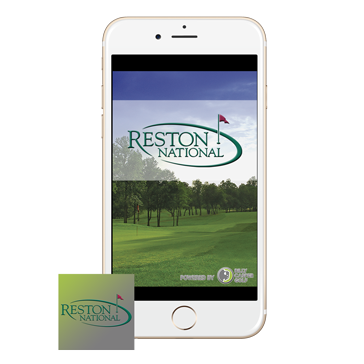 Reston National Golf Course - App web banners