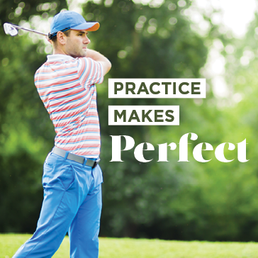 Practice makes perfect at a Billy Casper Golf Course