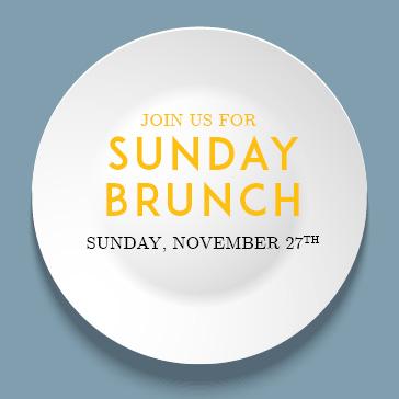 November Sunday Brunch at Orchard Valley