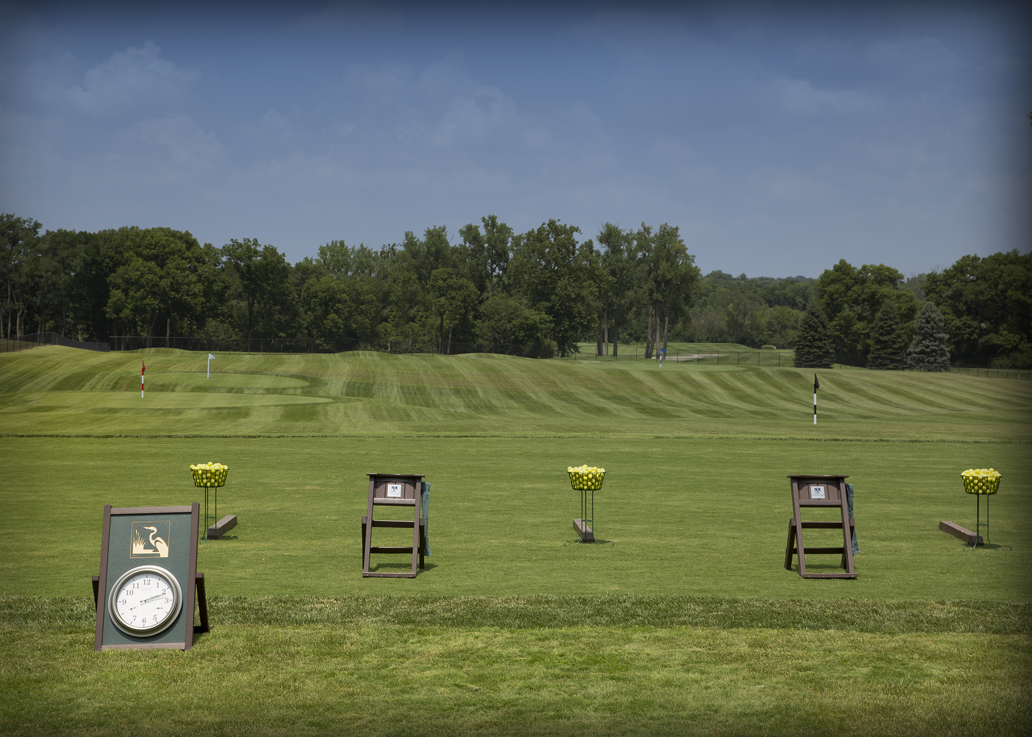 Heatherwoode's new range and practice facility